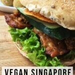 vegan travel burger in singapore