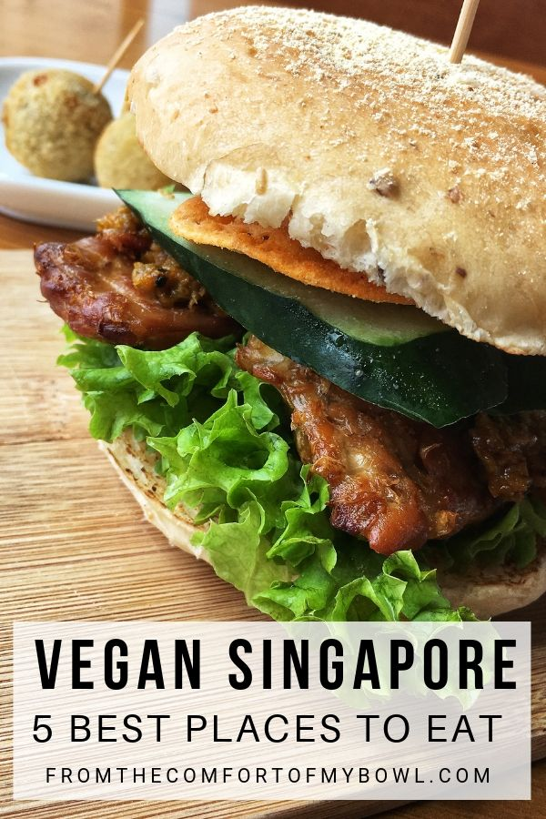 vegan burger in singapore