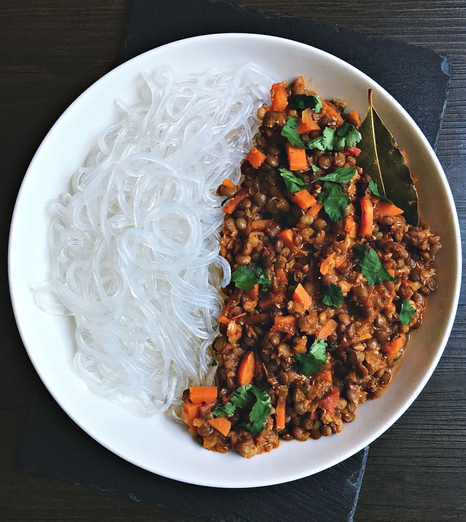 quick vegan lentil stew