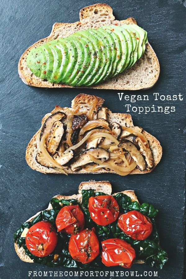 vegan toast toppings for sourdough