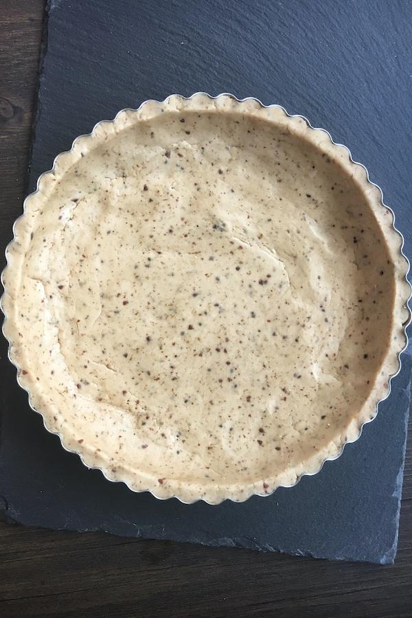 gluten free vegan unbaked tart crust